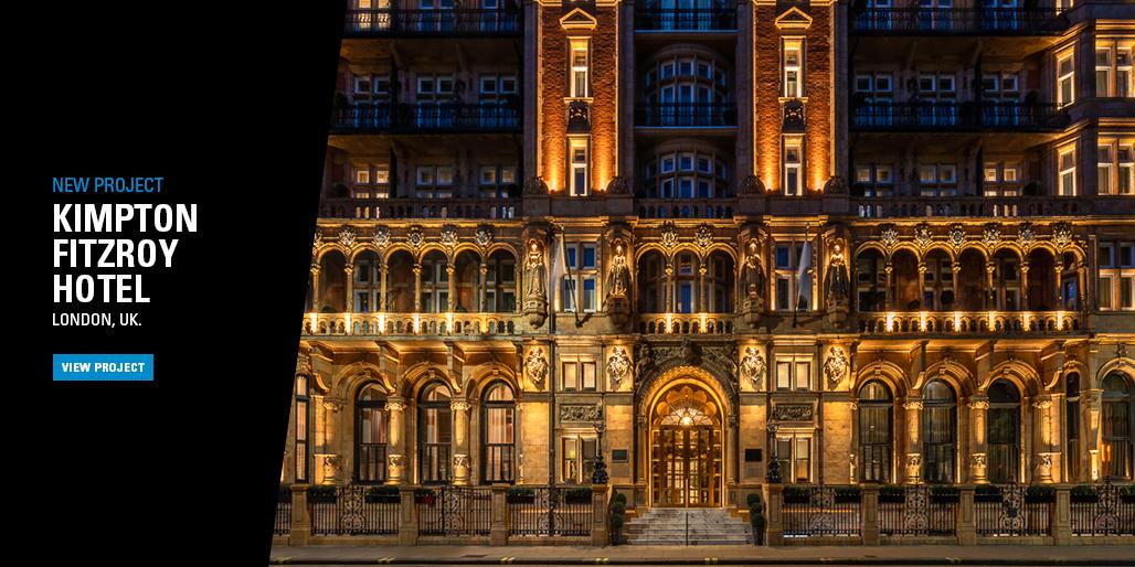 New project - Kimpton Fitzroy Hotel London