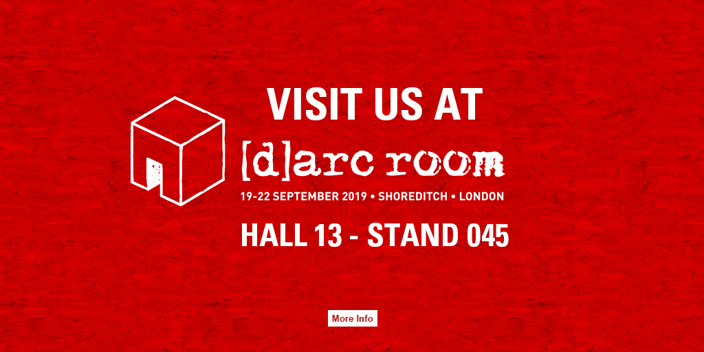 Visit us at [d]arc room 2019 - Hall 13 - Stand 045