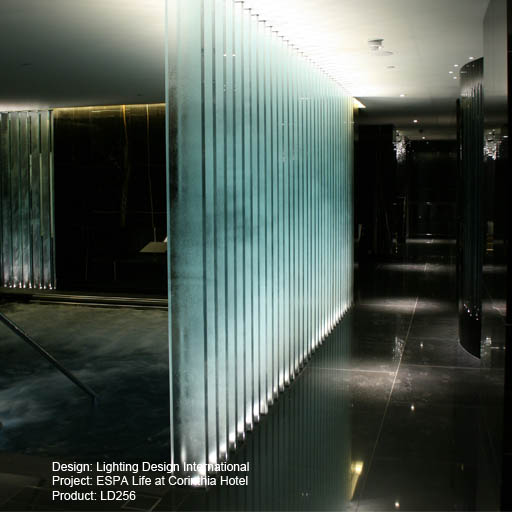 ESPA Life at the Corinthia Hotel Lightgraphix Creative Lighting Solutions