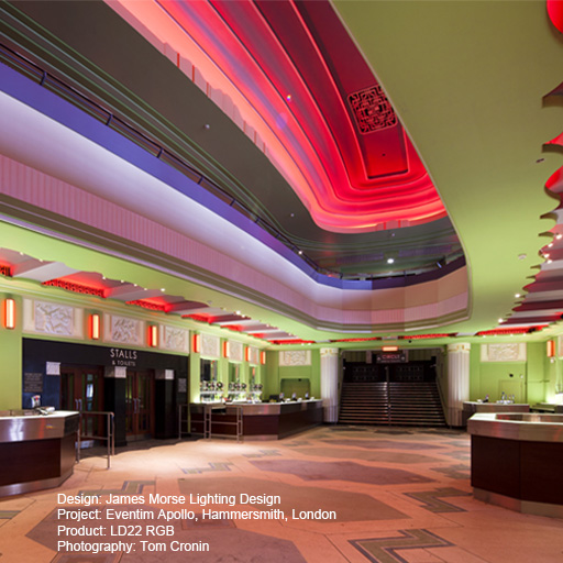 Hammersmith Apollo Lightgraphix Creative Lighting Solutions