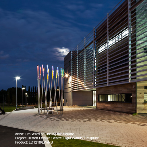 Bilsten Leisure Centre Lightgraphix Creative Lighting Solutions