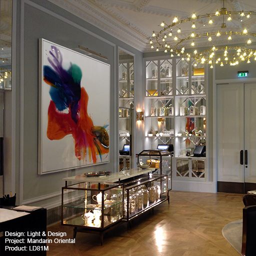 Mandarin Oriental Lightgraphix Creative Lighting Solutions