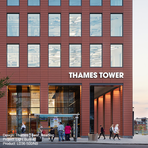 Thames Tower, Reading Lightgraphix Creative Lighting Solutions