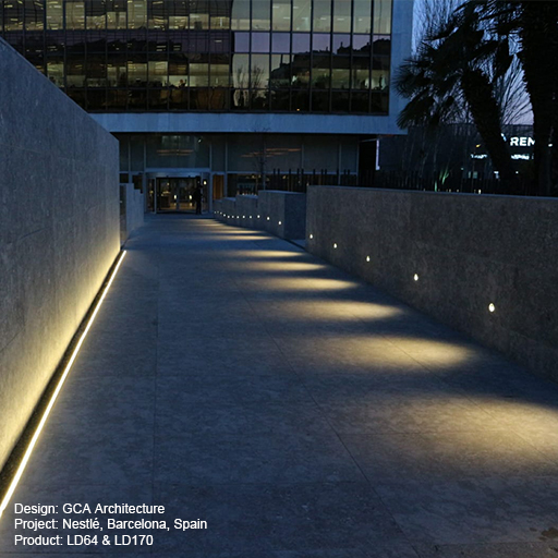 Nestl�, Barcelona, Spain Lightgraphix Creative Lighting Solutions